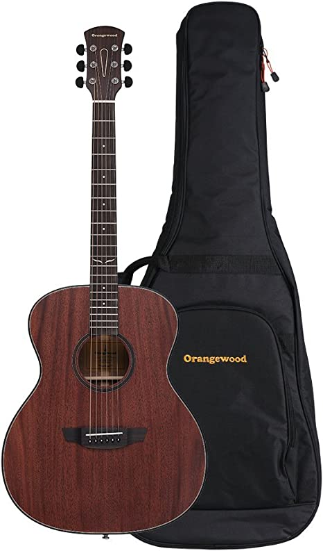 Orangewood - Guitarra acústica de 6 cuerdas (OW-OLIVER-M): Amazon ...