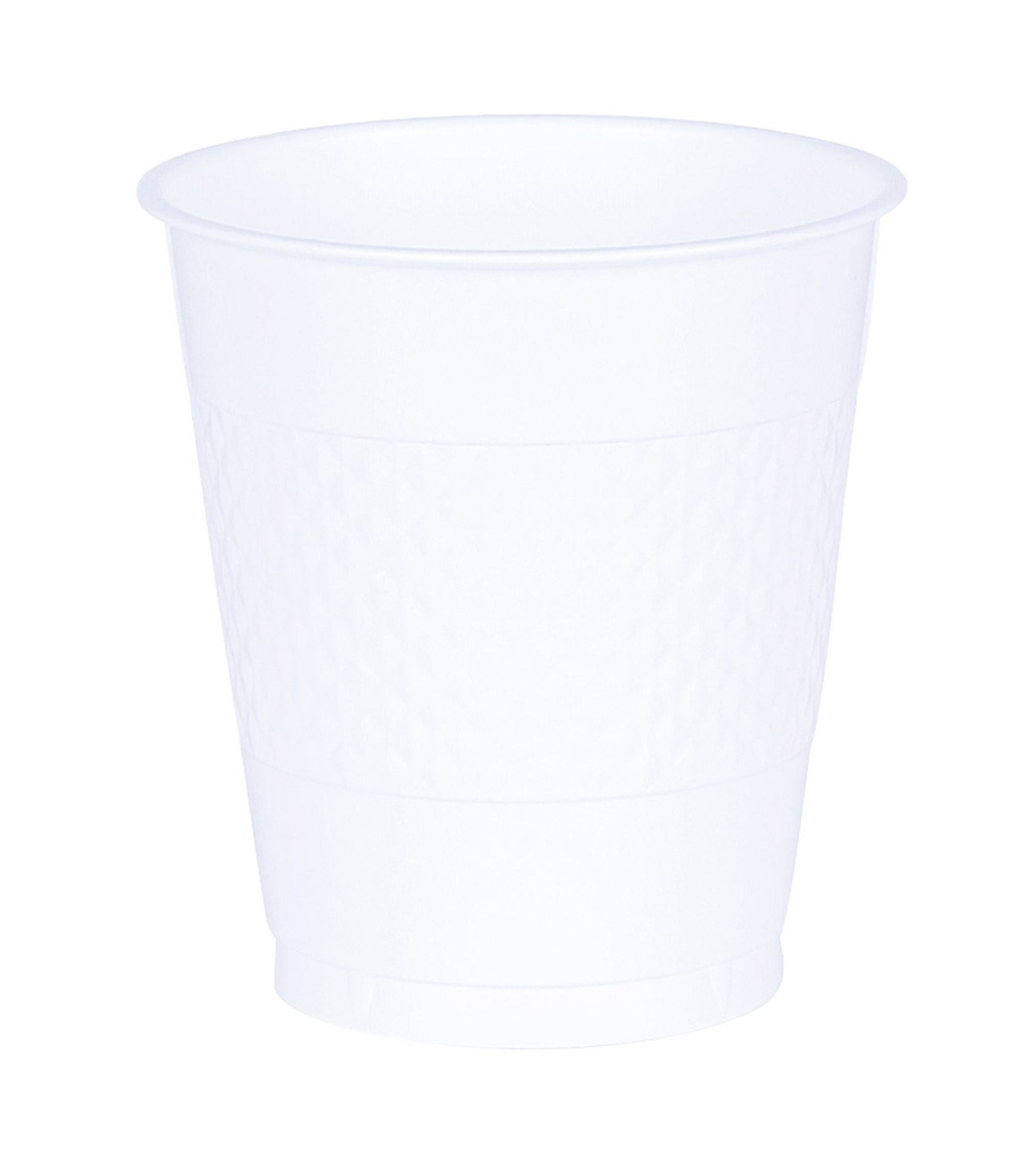 White Plastic Cups | 12 oz. | Party Supply | 200 ct.