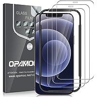 opamoo [3-Stuks] Screen Protector voor iPhone 12 /iPhone 12 Pro (6.1''),Screenprotector voor iPhone 12 Pro Volledige…