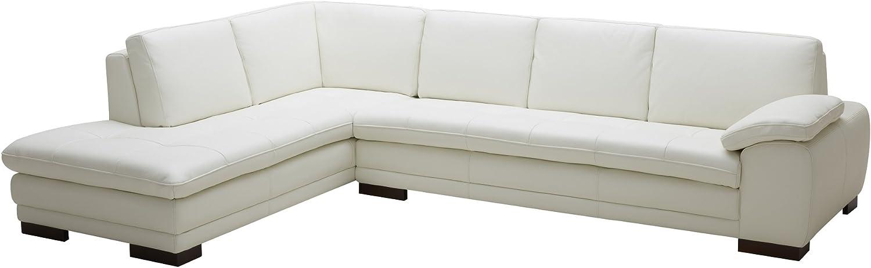 Amazon.com: J y M Seccional Muebles 625 Cuero Italiano color ...