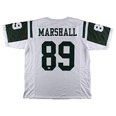 e9a0c201aad Jalin Marshall Signed New York Jets Jersey with JSA Signature Debut  Authentication