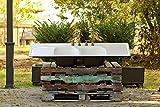 1957 Large 60'' Double Farm Sink Kohler Double Drainboard Drop In Cast Iron Kitchen Sink Package