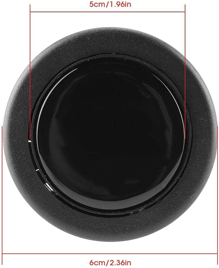 Steering Wheel Horn Button-Universal Modified Car Steering Wheel Horn Button