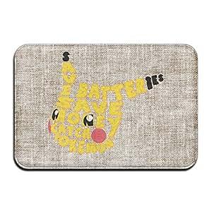 Fashions environmental-save Batteris dinero Catch Pikachu personalizada de interior/al aire libre Doormats