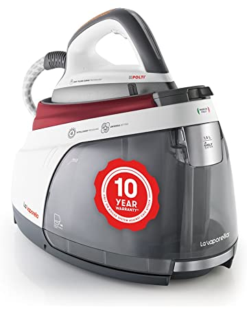 Polti La Vaporella XM80C, Steam generator iron with boiler, 7 bar, no maintenance, 10 year warranty on the boiler against limescale attacks*, unlimited autonomy, steam pulse 450g