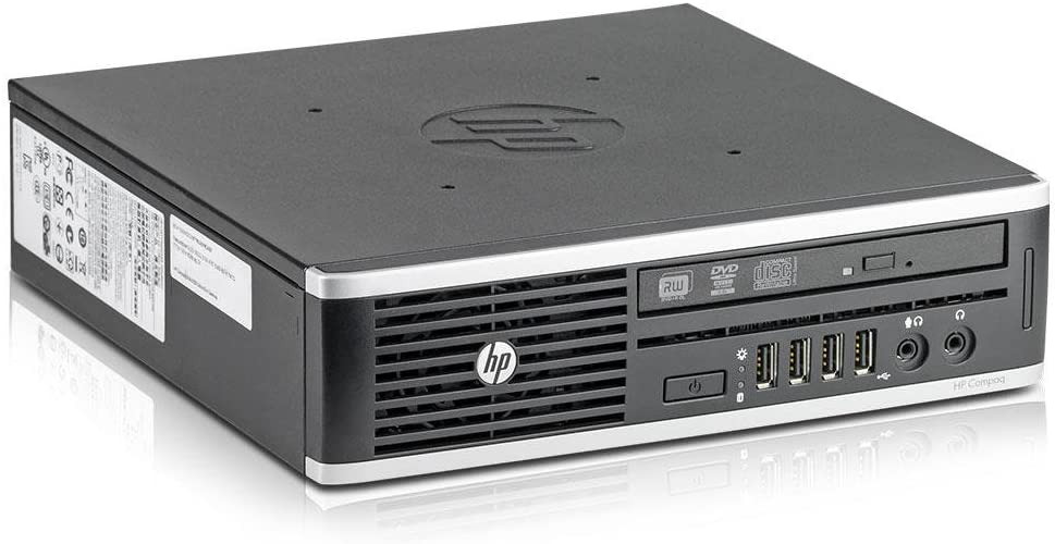 HP Compaq Elite 8300 Ultra-Slim Desktop PC USDT - Intel Core i5-3470s 2.90 GHz - F5T04UC#ABA