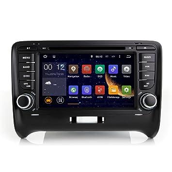 TOPNAVI 7 pulgadas Android 7.1 Car Media Player para Audi¨n TT Auto GPS Navegación