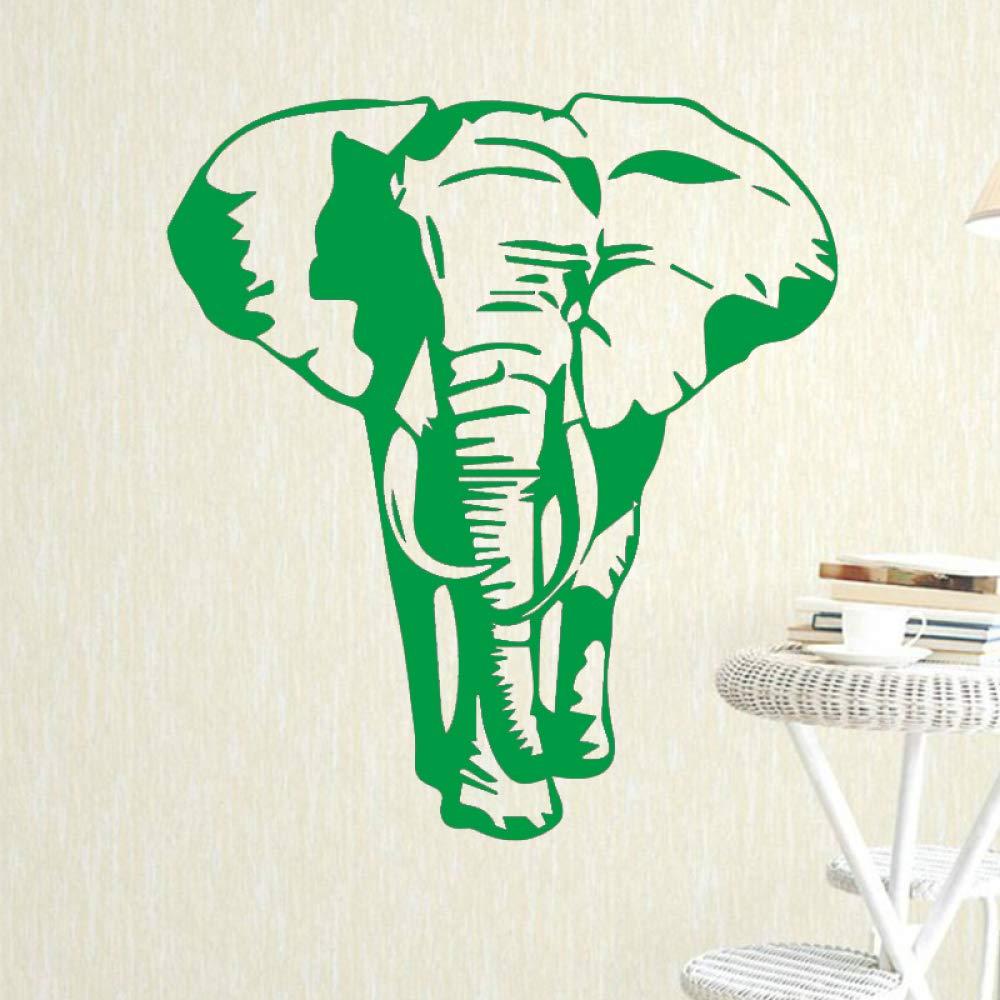 yiyiyaya Patrón de Elefante Etiqueta de la Pared para niños ...
