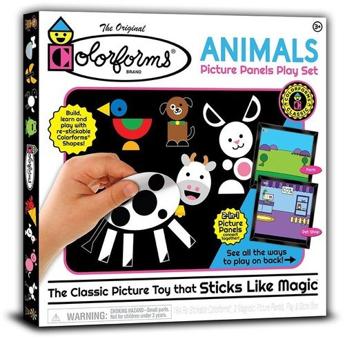 Colorforms - Animals Picture Panels Play Set
