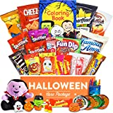 Halloween Care Package - Chocolates, Candy, Snacks, Toys, and more!! (30 count)