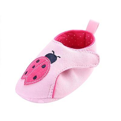 Clode® , Chaussures premiers pas pour bébé (fille) rose rose 0-6 mois
