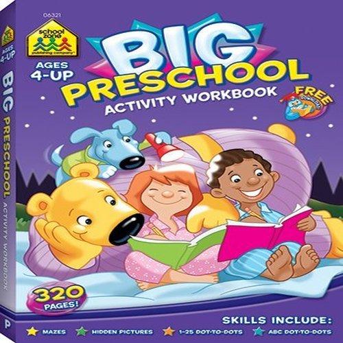 Big Preschool Activity Workbook Ages 4 & Up