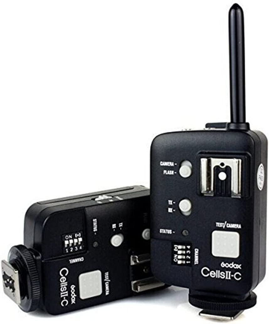 TM Witstro Ad180 V860n Godox Cells II All-in-One High Speed Remote Wireless Control Flash Transmitter Trigger for Canon DRSL Camera Conect Neewer//Godox V850 Ad360 V860c Remote Triggers,Y/&M