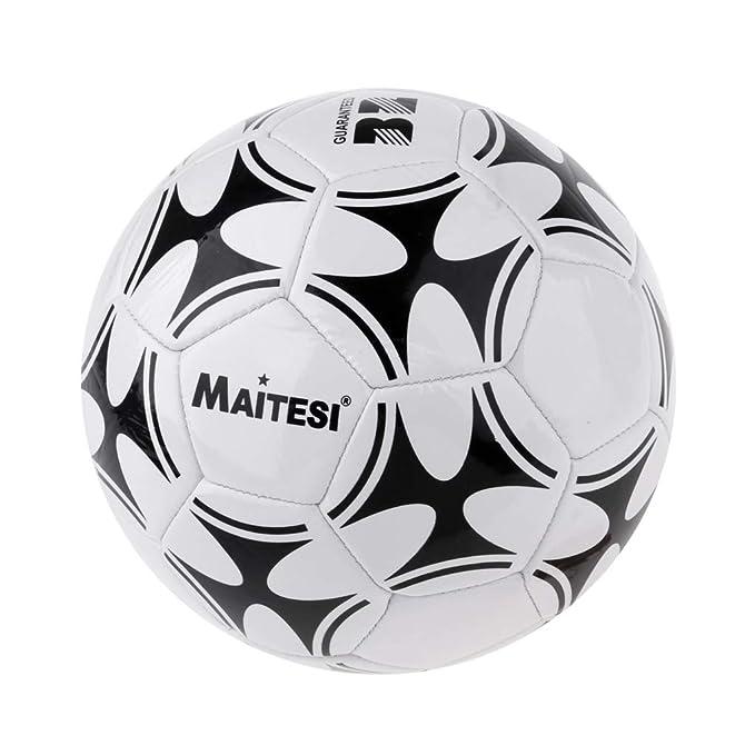 Toygogo Balón de Fútbol de Práctica Pelota Estándar de PVC Equipo ...