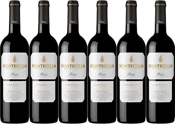 Vino D.O. Rioja Montecillo Gran Reserva Caja de 6 unidades: Amazon.es: Alimentación y bebidas