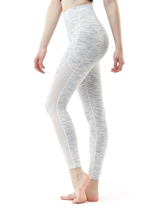 Tsla Yoga Pants High Waist Tummy Control W Hidden Pocket Fyp74 / Fyp52 / Fyp54 / Fyp56 / Fyp72 by Tsla