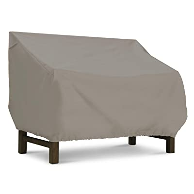 Basics Patio Bench/Sofa Cover, Grey: Garden & Outdoor