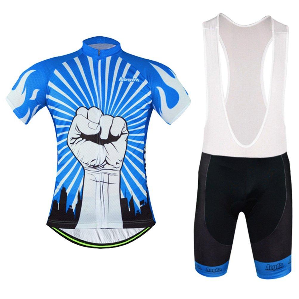 0b89cbf61 Uriah Cycling Jersey Bib Shorts Sets Reflective Short Sleeve Aogda   1540964663-46485  -  33.70
