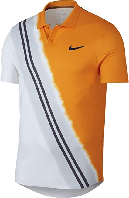 polo homme nike orange