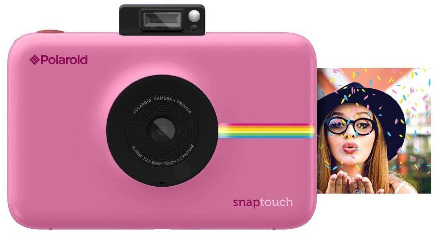 e41369baea55cd Polaroid Snap Touch - Appareil Photo Numérique à Impression Instantanée  avec Écran LCD et Technologie d Impression sans Encre Zink, Rose   Amazon.fr  Photo   ...