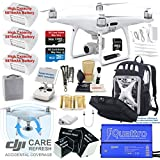 DJI Phantom 4 PRO Drone Quadcopter Bundle Kit with DJI CARE Refresh Accidental Coverage, 3 Batteries, 4K Camera Gimbal and MUST HAVE Accessories