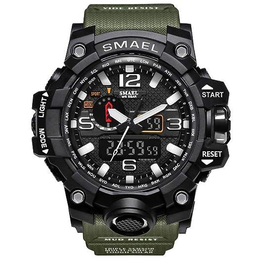 Reloj Militar Multiusos del Reloj Militar del Reloj de la Manera de los Deportes al Aire
