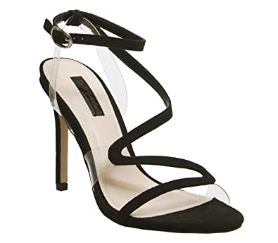 6f9a43ddae3 Office Hotel Asymmetric Strappy Heels  Amazon.co.uk  Shoes   Bags