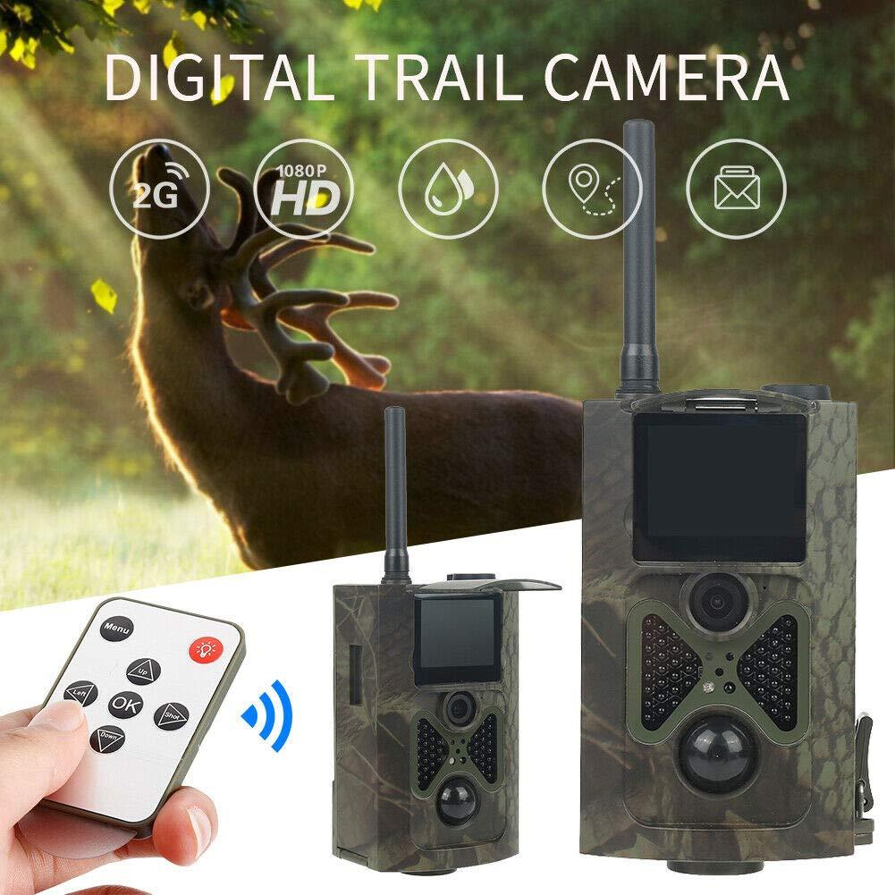 HD 1080P HC300M Hunting Trail Camera 12MP IR Wildlife Scouting Cam Night Vision by Rexbhi