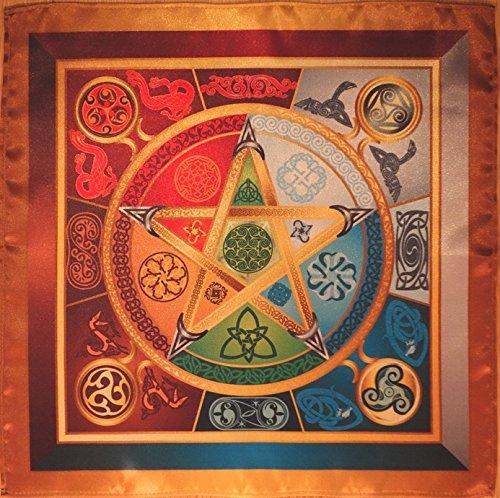 Price comparison product image Wicca Magic Tablecloth Force 5 Lyrics - Magic Power Wiccan Magic Medium Size 24x24