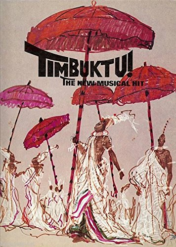 "Eartha Kitt ""TIMBUKTU"" Robert Wright & George Forrest 1979 Souvenir Program"