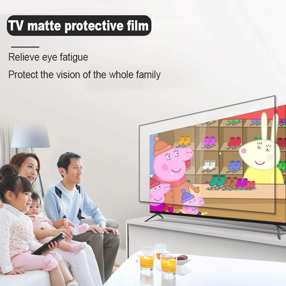 Anti-Glare//Anti-Scratch Screen Film for LCD//Monitor//Display,65inch ZXYWW Matte Anti Blue Light Screen Protector for 60 TV 1432803mm