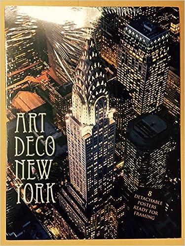 Art Deco Poster New York.Art Deco New York Poster Book Amazon Co Uk 9781908271914 Books
