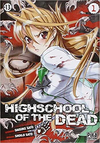 Livre High school of the dead Vol.1 pdf, epub