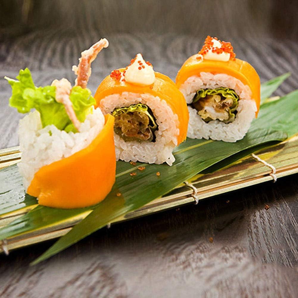 AYRSJCL Haciendo Sushi RollSushi bamb/ú no t/óxico Plaza palillo de balanceo