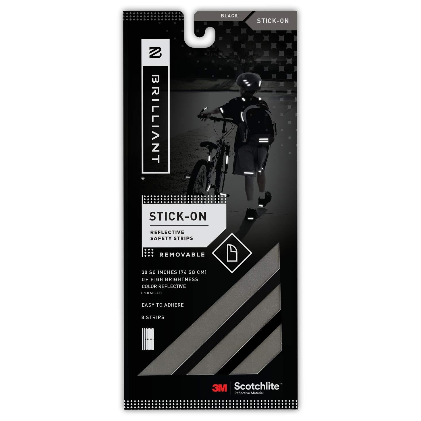 Brilliant® Reflective Strips, Stick-On