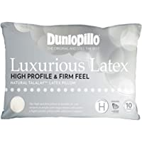 Luxurious Latex High Profile & Firm Feel Pillow by Dunlopillo
