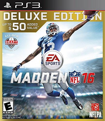 Video Games: Madden NFL 16 for PS3 - 3