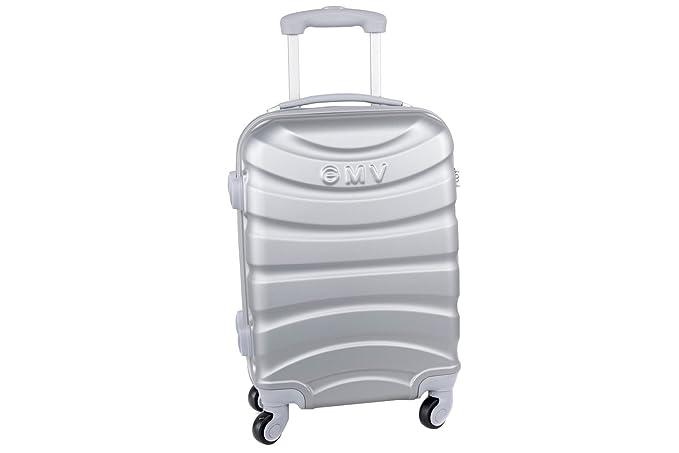 Maleta rígida GIANMARCO VENTURI plata mini equipaje de mano ryanair S307