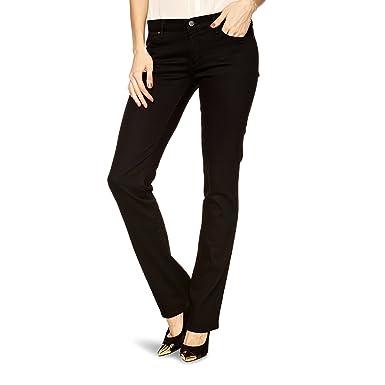 Wrangler Damen Jeans, Frauenjeans W24SCK81H Drew Straight Perfekt Black ,  Größe W26 L32 bc0a6602e5