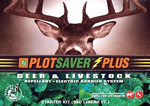 (Messina Wildlife PSP-100 PLOTSAVER Plus Deer Repellent Starter Kit)