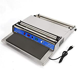 """Intbuying 18""""/450mm Hand Wrapping Machine Film Wrapper for Food Fruit Tray Food Packaging Fresh Keeping Sealer"""
