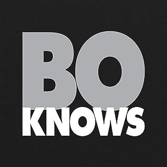 7185207acaea0 Bo Knows (Grey/Black) Mens Triblend T Shirt