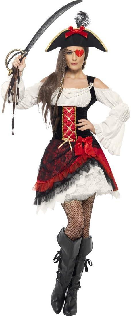 NET TOYS Disfraz de Pirata de Mujer Barroco Vestido corsario ...
