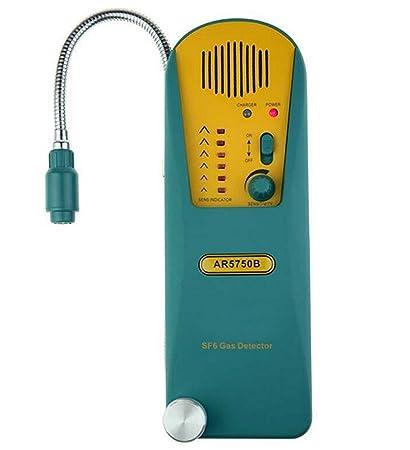 Detector de fugas de gas de refrigerante Halógeno SF6 HFC CFC HCFC analizador con alta sensibilidad