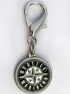 product image for Diva-Dog MLB Baseball 'Seattle Mariners' Licensed Team Dog Collar Charm