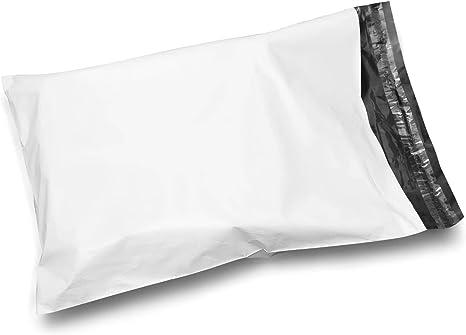 200 12x15.5 TUFF Poly Mailers 12 x 15.5 White Self Sealing Bags Envelopes