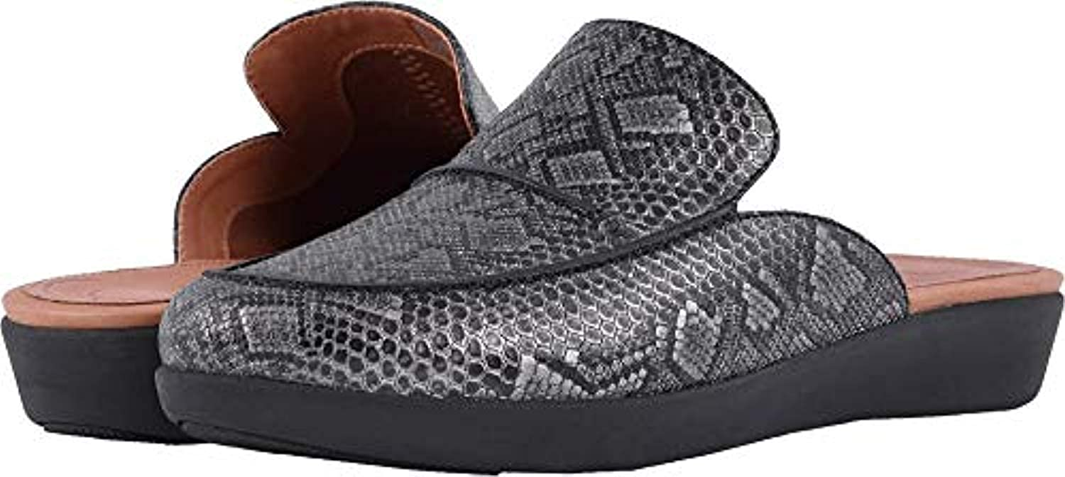 FitFlop Womens Serene Python Print Slip On