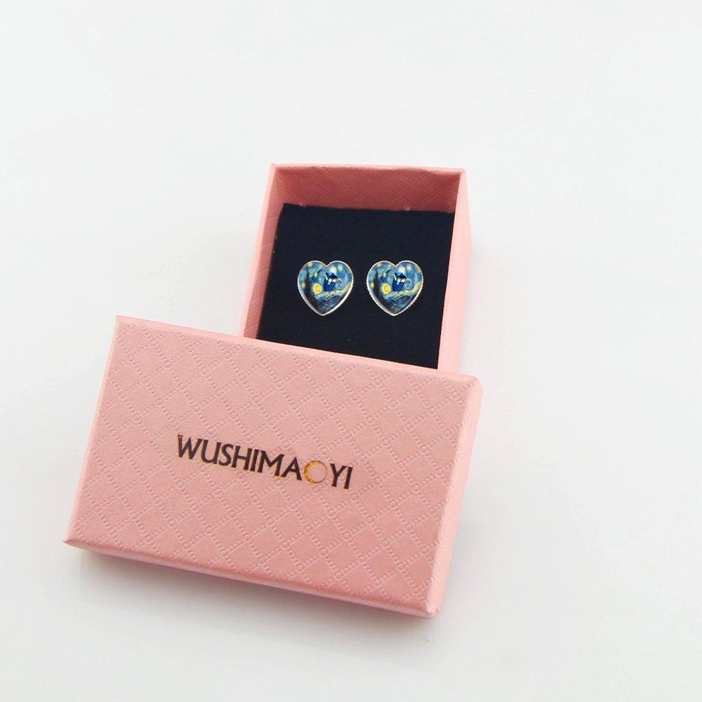 Amazon.com: WUSHIMAOYI Tardis Doctor Who Starry Night Earrings ...