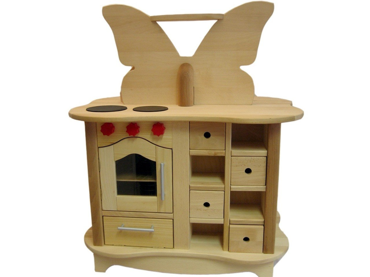 Kinderküche beidseitig bespielbar - Estia Schmetterling Küche