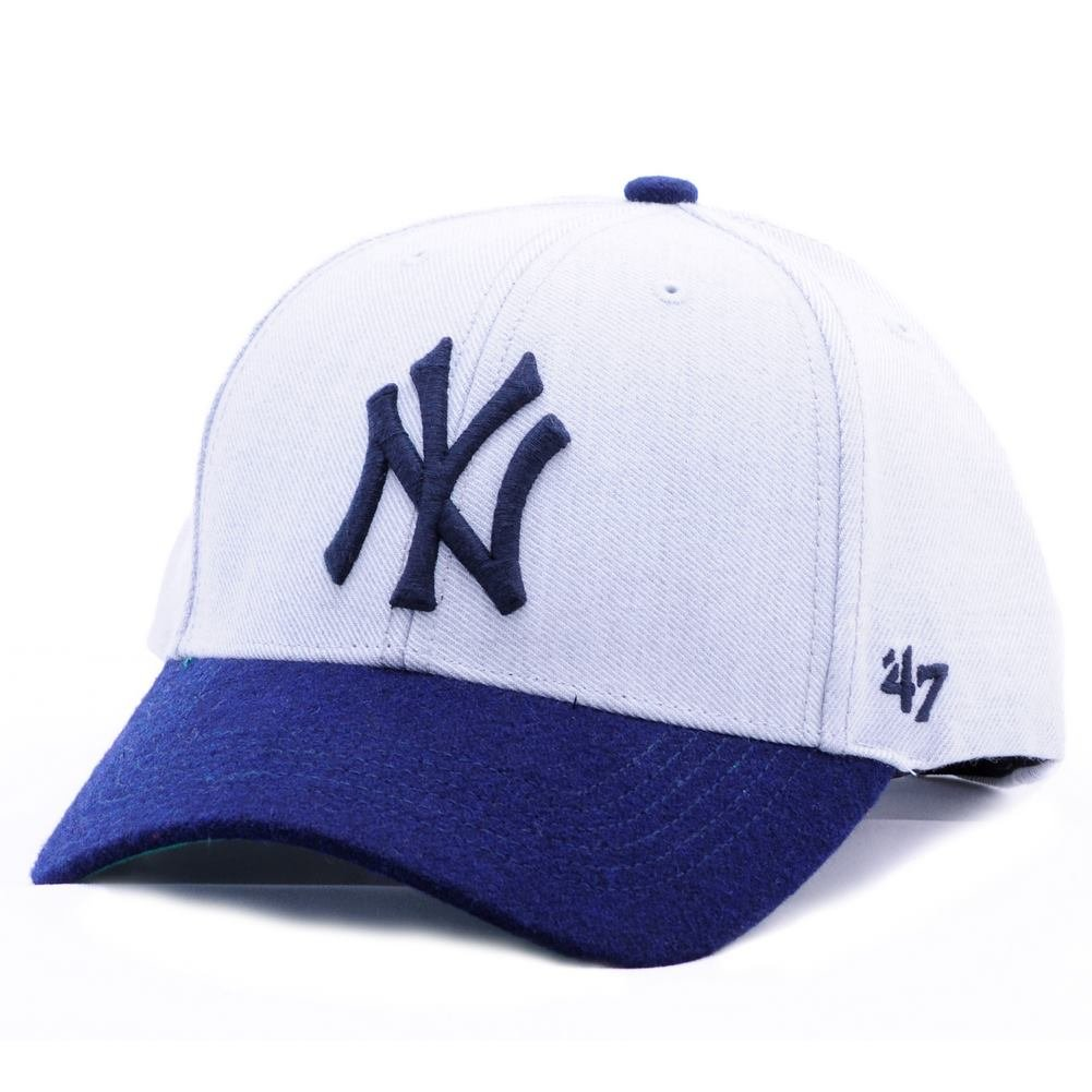 Gorra 47 Brand – Mlb New York Yankees Mvp Curved V Struct fit gris ...